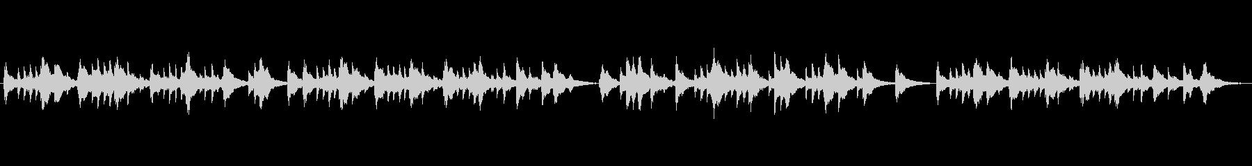オルゴールの未再生の波形