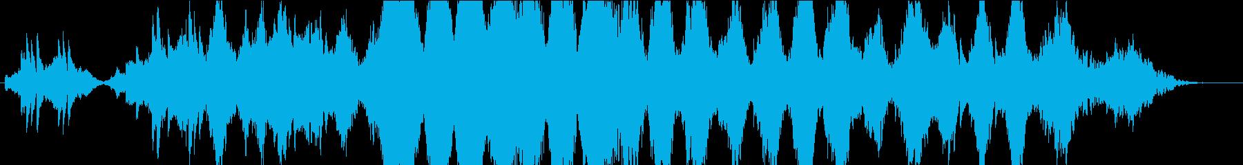 ストリングス、ピアノ中心のしっとりな感じの再生済みの波形