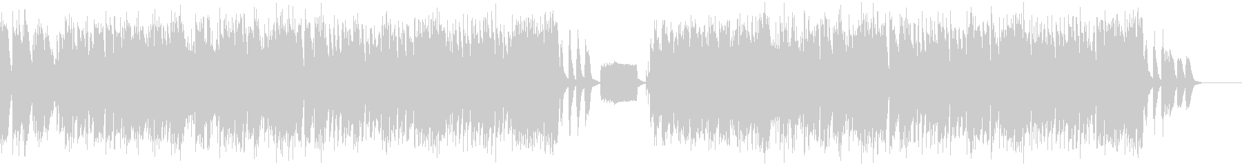 コミカルなジャズの未再生の波形