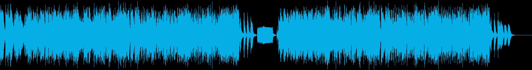 コミカルなジャズの再生済みの波形