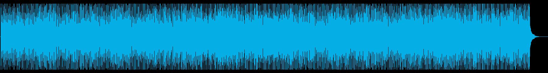 爽やかで煌びやかなピアノ&ギターBGMの再生済みの波形