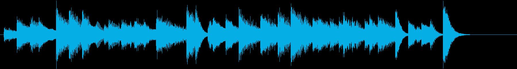 「花のワルツ」クラシックピアノジングルBの再生済みの波形