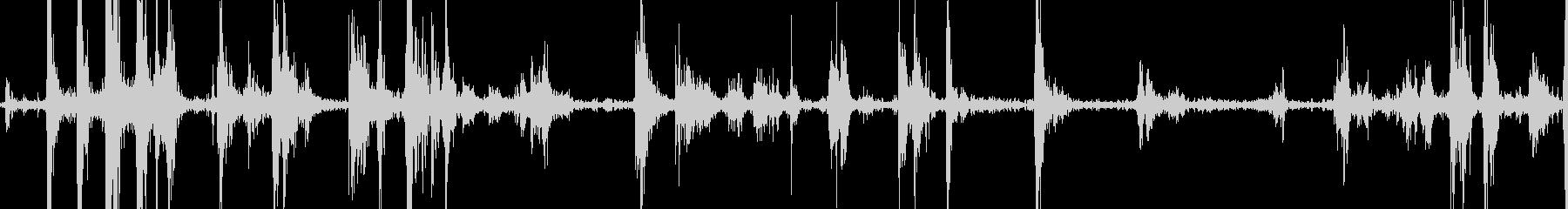 バードウィングハードフラップの未再生の波形