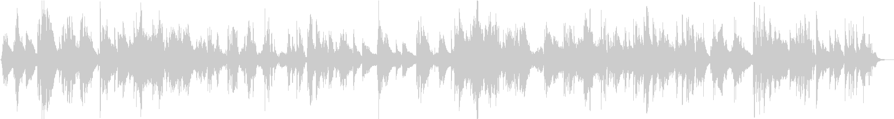 サックスのソロとベースのピアノバラード。の未再生の波形