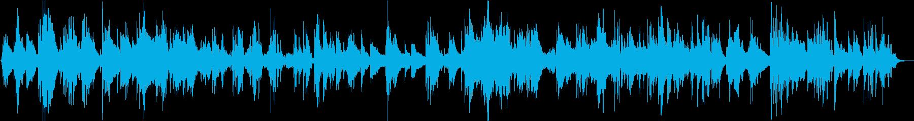 サックスのソロとベースのピアノバラード。の再生済みの波形