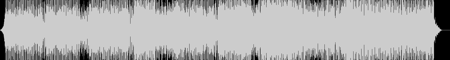 動画BGM向きのクラブミュージックの未再生の波形