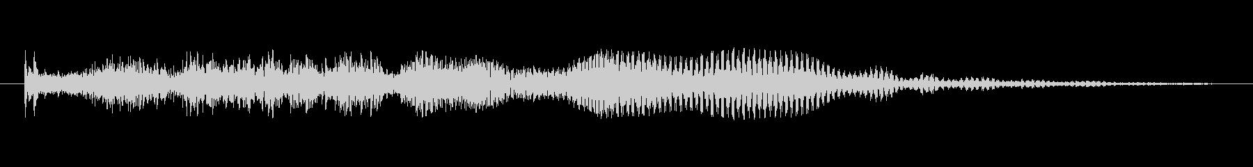 フィクション スペース 低レーザー...の未再生の波形