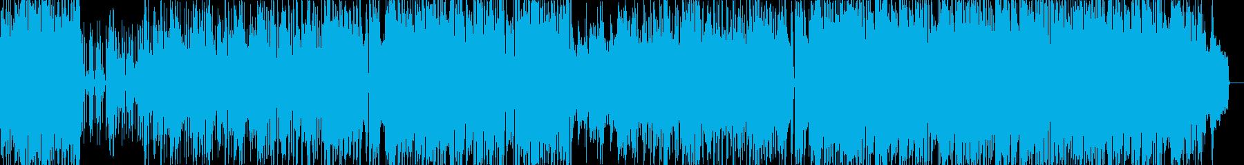 ポップオーケストラ元気ピアノ企業PVの再生済みの波形