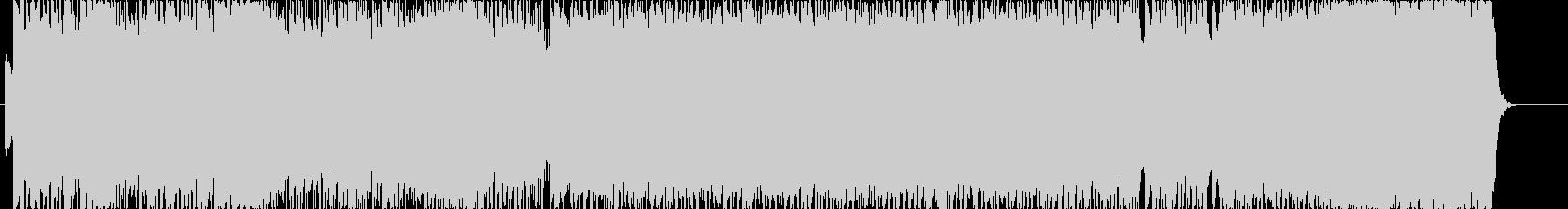 和がモチーフのハードロック戦闘BGMの未再生の波形