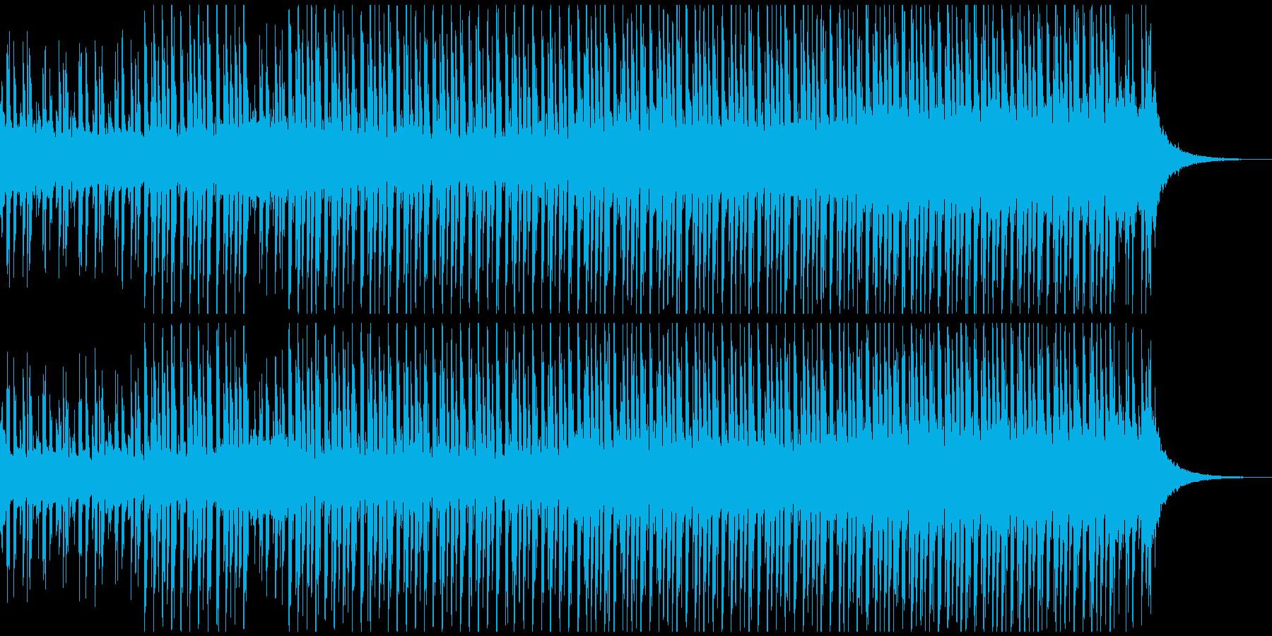 ハッピーアップビート(ショート)の再生済みの波形