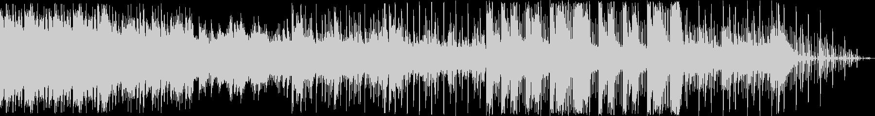 ピアノとシンセのエレクトロニカの未再生の波形