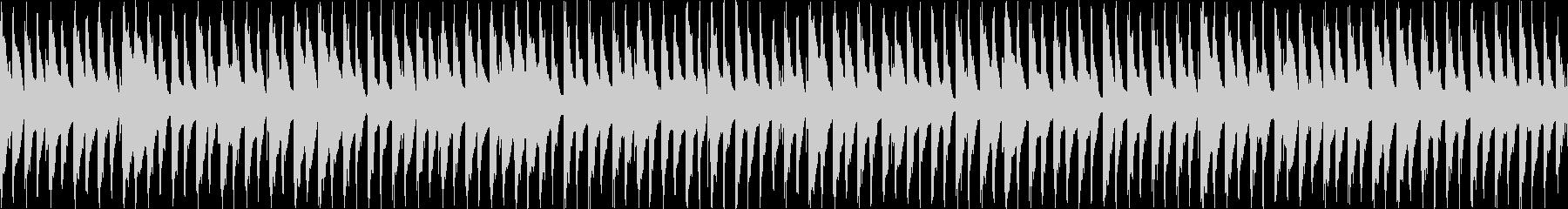 ピアノが跳ねたかわいいBGMの未再生の波形