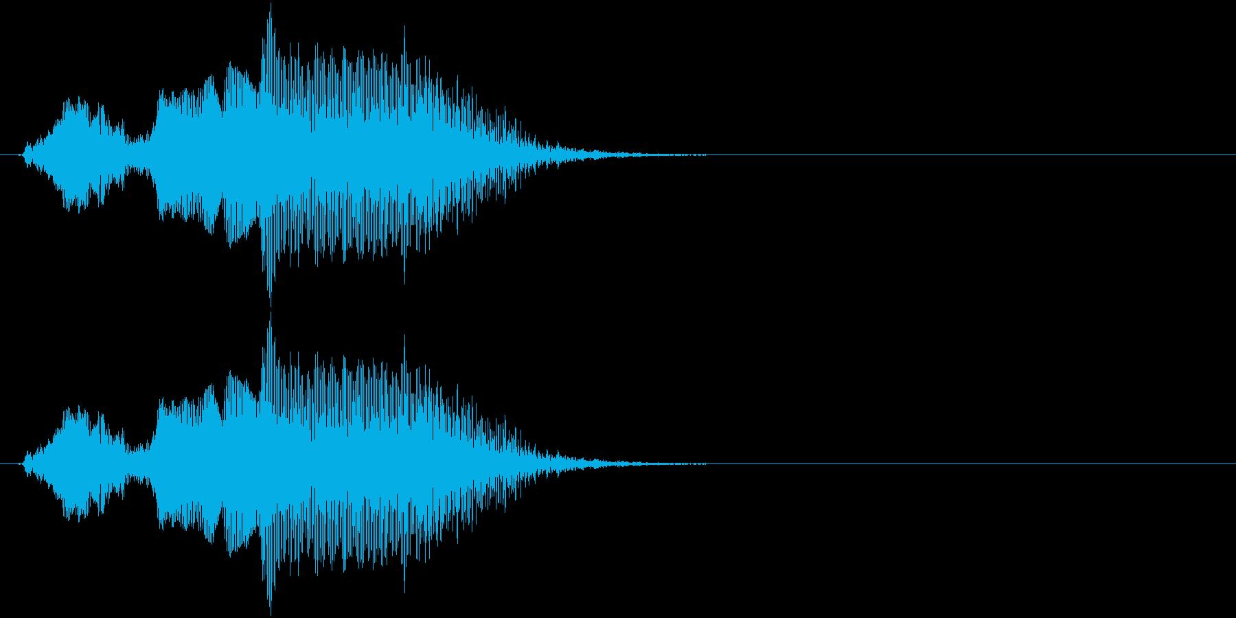 クリア(幼児)の再生済みの波形