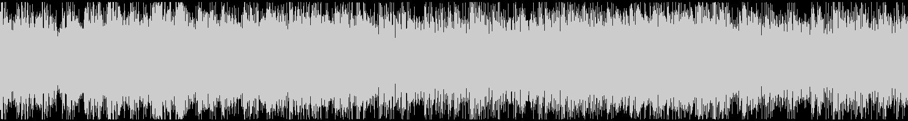 クール・さわやかなイメージのピアノハウスの未再生の波形