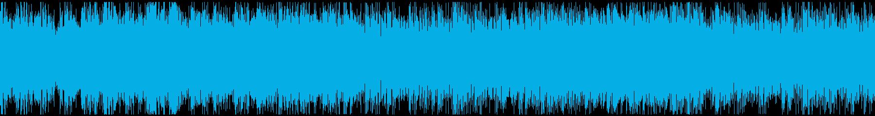 クール・さわやかなイメージのピアノハウスの再生済みの波形