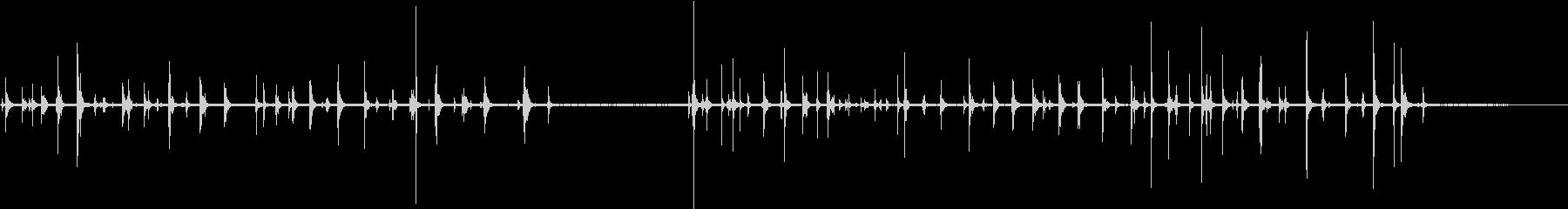 ラップトップコンピュータ:タイピン...の未再生の波形