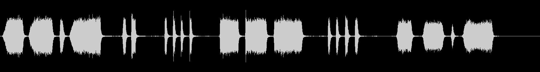 エアホイッスルアンティーク5をトレ...の未再生の波形