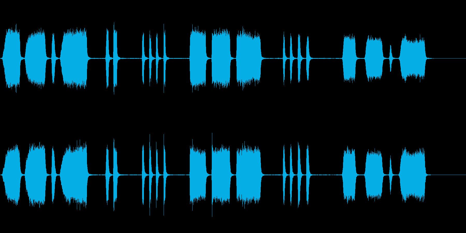 エアホイッスルアンティーク5をトレ...の再生済みの波形
