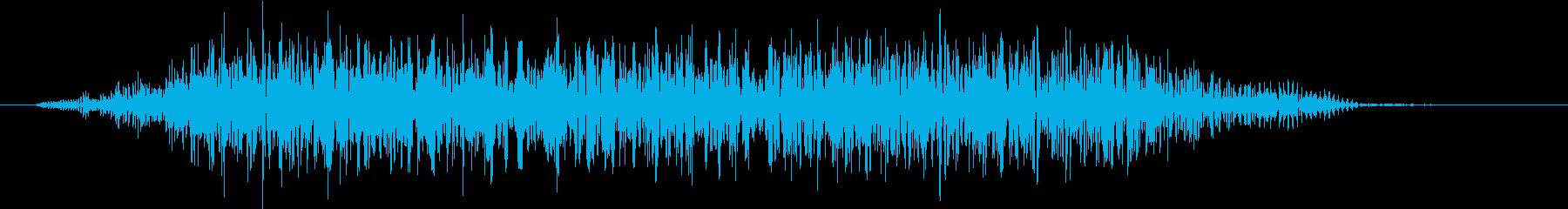モンスター 悲鳴 46の再生済みの波形