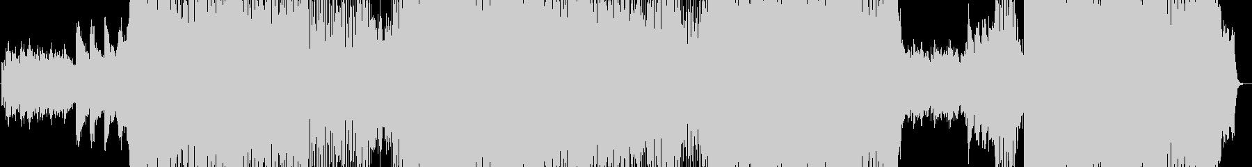 綺麗なピアノのリキッド系ドラムンベースの未再生の波形