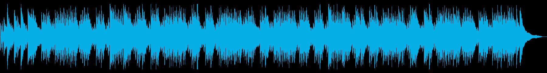 ✡都市伝説動画に絶妙に合いそうな✡ピアノの再生済みの波形