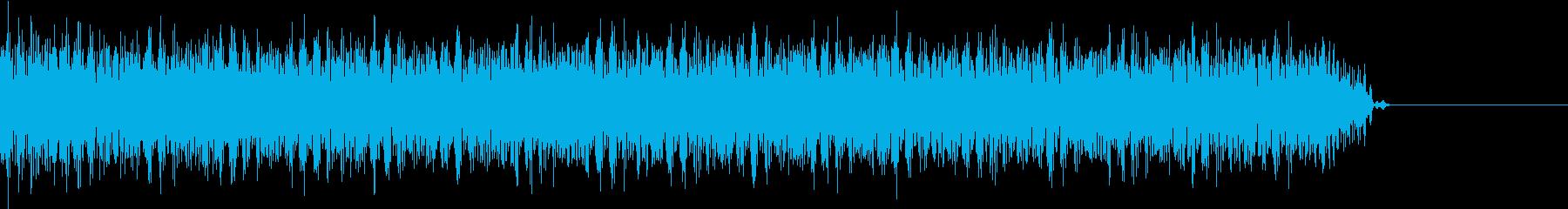 ゲーム、クイズ(ブー音)_014の再生済みの波形