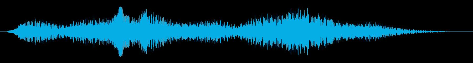 素材 揺れるドローン04の再生済みの波形