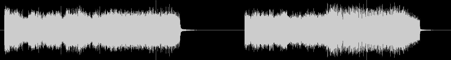 フィクション 電力装置 歪み01の未再生の波形