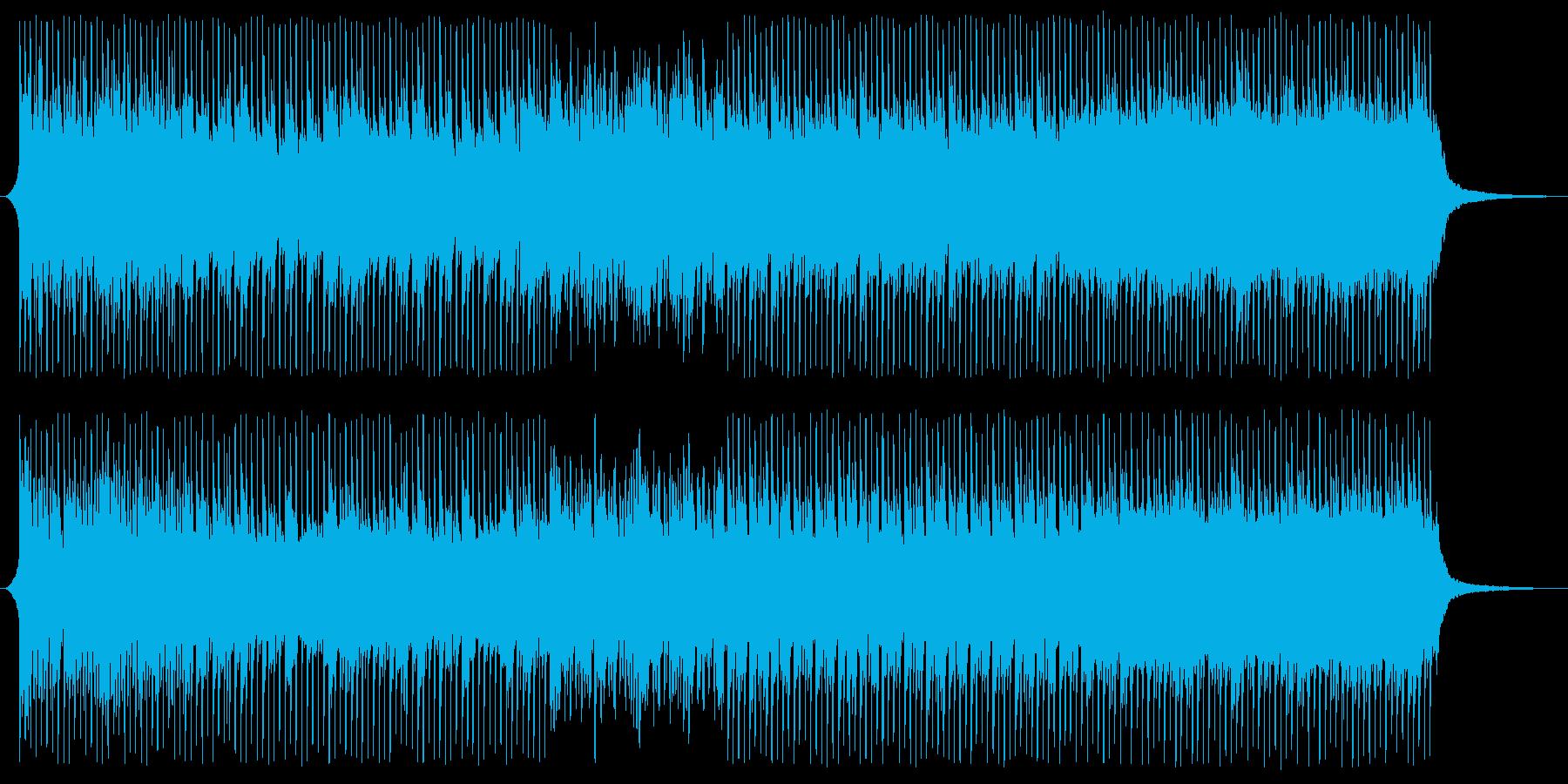 ショートver 光へ キラキラ 華やかの再生済みの波形