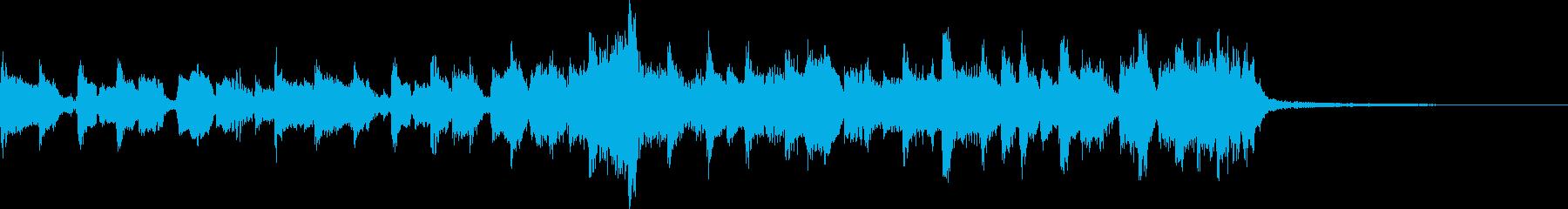 ギターのリフから何かが始まるの再生済みの波形