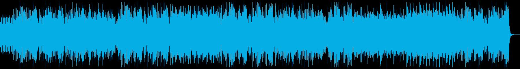 明るく楽しいキッズピアノ:スネアなしの再生済みの波形