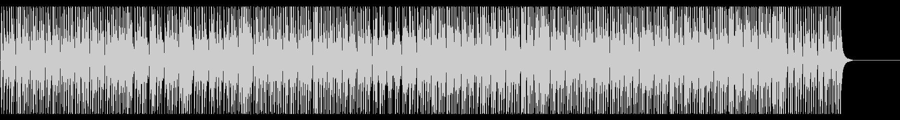 三味線のダウナーな和風ミドルテンポの未再生の波形