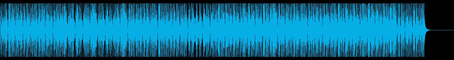 三味線のダウナーな和風ミドルテンポの再生済みの波形