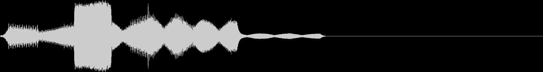 ピロリ(click_044_ボタン)の未再生の波形