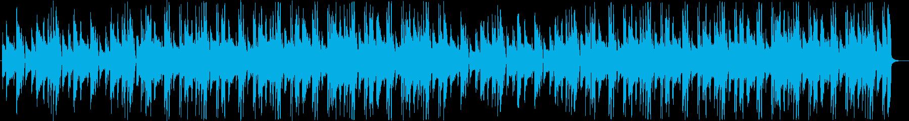 ローファイ ミステリアス 探検の再生済みの波形