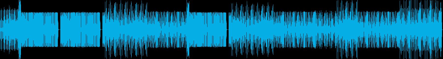 クールめなHIPHOP インストの再生済みの波形