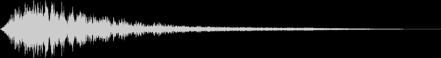 【ホラー】サウンドスケイプ_01の未再生の波形