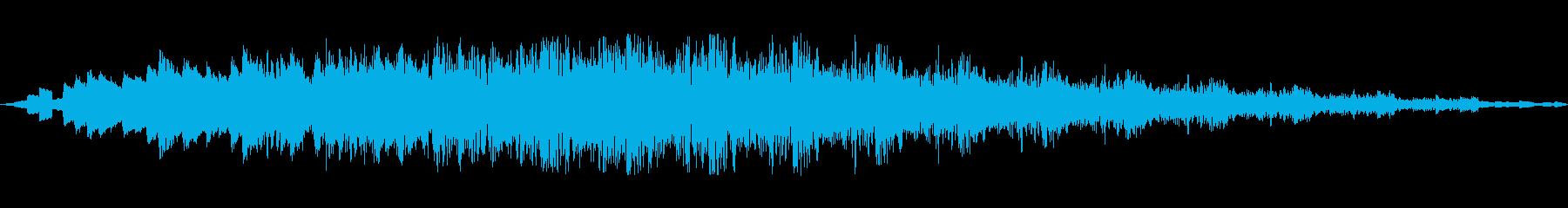 マジックレーザーの再生済みの波形