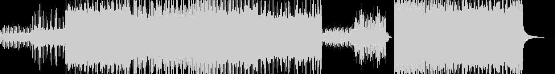 ノスタルジックなHIPHOPトラックの未再生の波形