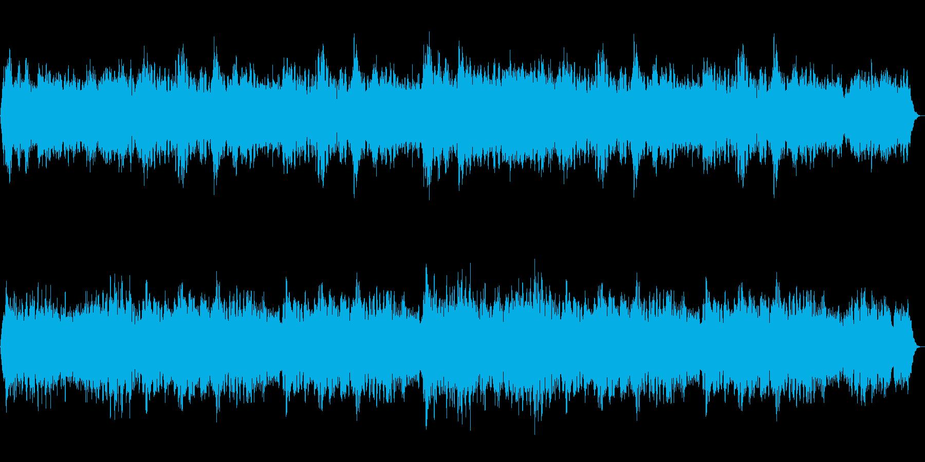 クリスマスをイメージしたテクスチャー!の再生済みの波形
