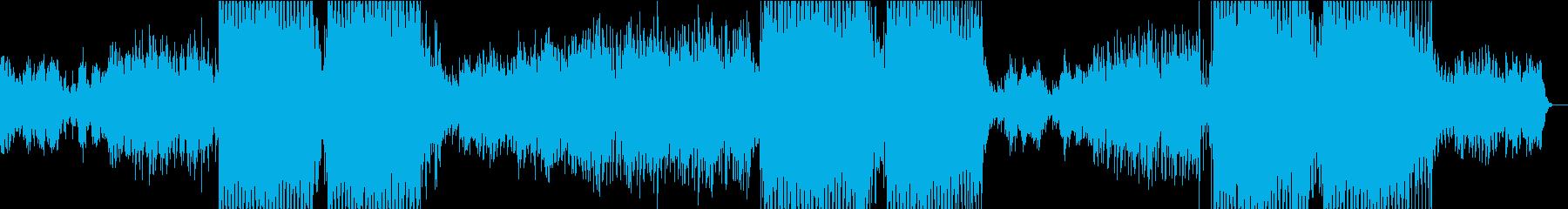 トロピカルハウス◆~カワイイメロディ~の再生済みの波形