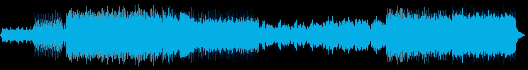 ピアノ バイオリン 疾走感 爽快の再生済みの波形
