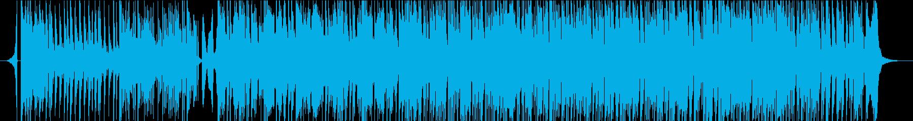 浮遊感、疾走感のあるダルシマーのBGMの再生済みの波形