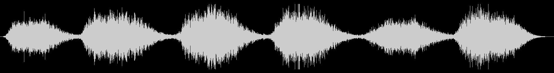 スペースドローン:スローメタリック...の未再生の波形