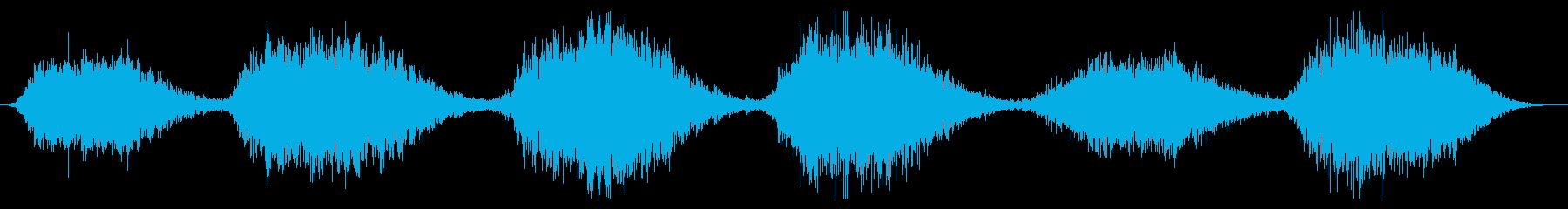 スペースドローン:スローメタリック...の再生済みの波形