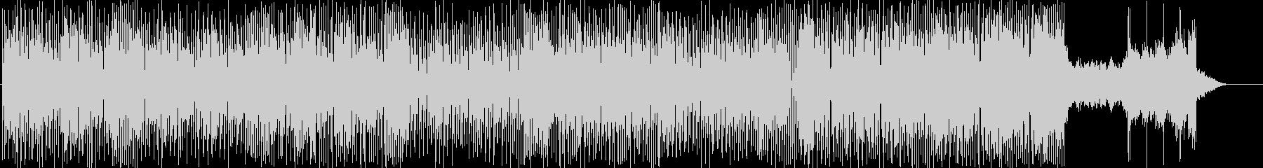 和風なハウスミュージックの未再生の波形