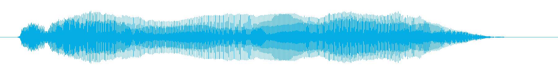うわぁ~んの再生済みの波形