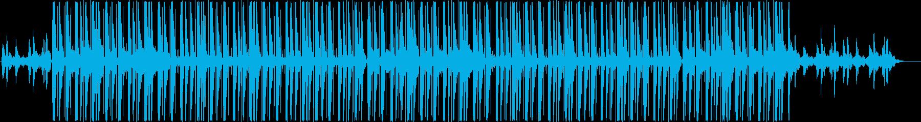 チルアウト、ローファイR&Bトラック♪の再生済みの波形