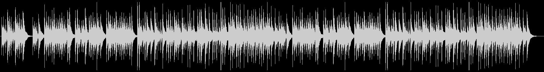 「ロンドンデリーの歌」ウクレレカバーの未再生の波形
