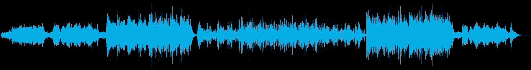 愁いを秘めたアンビエントな趣のピアノの再生済みの波形